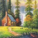 """Hand painted oil painting on canvas""""Image of the countryside""""60x90CM(23.6""""x35.4"""")Unframed-57"""