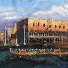 "European style Hand painted oil painting on canvas""Venice""70x180CM(27.6""x70.9"")Unframed-17"