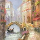 "European style Hand painted oil painting on canvas""Venice""60x90CM(23.6""x35.4"")Unframed-20"