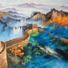 """Chinese style Hand painted oil painting on canvas""""Great Wall""""70x180CM(27.6""""x70.9"""")Unframed-06"""