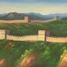 """Chinese style Hand painted oil painting on canvas""""Great Wall""""70x180CM(27.6""""x70.9"""")Unframed-07"""