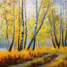 "Hand painted oil painting on canvas""Creek""50x60CM(19.7""x23.6"")Unframed-191"