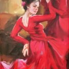 """Chinese style Hand painted oil painting on canvas""""Sexy Girl""""60x90CM(23.6""""x35.4"""")Unframed-25"""