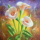 """Simple modern Hand painted oil painting on canvas""""Flowers""""60x90CM(23.6""""x35.4"""")Unframed-26"""