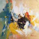 """Simple modern Landscape Hand painted oil painting on canvas""""abstract""""90x90CM(35.4""""x35.4"""")Unframed-18"""