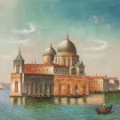 "Hand painted oil painting on canvas""Venice""50x60CM(20""x24"")Unframed-29"