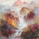 "Simple modern Hand painted oil painting on canvas""dusk""50x60CM(19.7""x23.6"")Unframed-26"