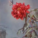 """Hand painted oil painting on canvas""""Peony""""50x100CM(20""""x40"""")Unframed-10"""