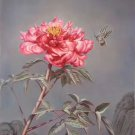 """Hand painted oil painting on canvas""""Peony""""50x100CM(20""""x40"""")Unframed-09"""