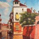 "European style Hand painted oil painting on canvas""Venice""60x90CM(23.6""x35.4"")Unframed-30"