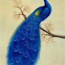 "Simple modern Hand painted oil painting on canvas""Gorgeous peacock""60x90CM(23.6""x35.4"")Unframed-54"
