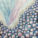 """Hand painted oil painting on canvas""""The dandelion""""60x90CM(23.6""""x35.4"""")Unframed-40"""