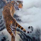 """Simple modern Hand painted oil painting on canvas""""tiger""""60x90CM(23.6""""x35.4"""")Unframed-03"""