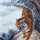 """Simple modern Hand painted oil painting on canvas""""tiger""""60x90CM(23.6""""x35.4"""")Unframed-04"""