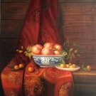 "Chinese style Hand painted oil painting on canvas""ceramics""60x90CM(23.6""x35.4"")Unframed-32"