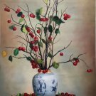 "Chinese style Hand painted oil painting on canvas""ceramics""60x90CM(23.6""x35.4"")Unframed-34"