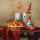"Chinese style Hand painted oil painting on canvas""ceramics""60x90CM(23.6""x35.4"")Unframed-35"