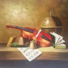 "Simple modern Hand painted oil painting on canvas""violin""50x60CM(19.7""x23.6"") Unframed-17"