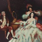"""palace Hand painted oil painting on canvas""""Royal member""""60x90CM(23.6""""x35.4"""")Unframed-21"""