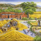 """Hand painted oil painting on canvas""""Image of the countryside""""90x180CM(36""""x72"""")Unframed-161"""