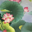 """Chinese style Hand painted oil painting on canvas""""lotus""""60x120CM(23.6""""x47.2"""")Unframed-75"""