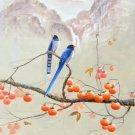 "Hand painted oil painting on canvas""Cute bird""60x80CM(24""x33"")Unframed-35"