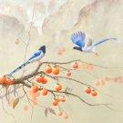 "Hand painted oil painting on canvas""Cute bird""60x80CM(24""x33"")Unframed-39"