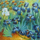 "Hand painted oil painting on canvas""flowers""30x40CM(12""x16"")Unframed-67"