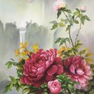 """Hand painted oil painting on canvas""""Peony""""60x120CM(24""""x48"""")Unframed-19"""