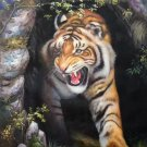 "Simple modern Hand painted oil painting on canvas""tiger""60x90CM(23.6""x35.4"")Unframed-08"