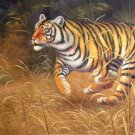 "Simple modern Hand painted oil painting on canvas""tiger""60x90CM(23.6""x35.4"")Unframed-10"