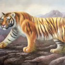 "Simple modern Hand painted oil painting on canvas""tiger""60x90CM(23.6""x35.4"")Unframed-13"