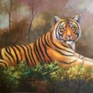 "Simple modern Hand painted oil painting on canvas""tiger""60x90CM(23.6""x35.4"")Unframed-14"