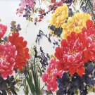"""Hand painted oil painting on canvas""""Peony""""60x120CM(24""""x48"""")Unframed-28"""