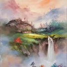 """Hand painted oil painting on canvas""""Creek""""60x90CM(23.6""""x35.4"""")Unframed-420"""