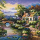 """European style Hand-painted oil painting on canvas""""mind home""""50x60CM(19.7""""x23.6"""")Unframed-15"""