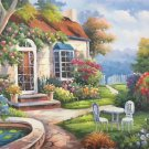 """European style Hand-painted oil painting on canvas""""mind home""""50x60CM(19.7""""x23.6"""")Unframed-30"""
