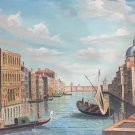 "European style Hand painted oil painting on canvas""Venice""60x90CM(23.6""x35.4"")Unframed-33"