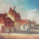 "European style Hand painted oil painting on canvas""Venice""60x90CM(23.6""x35.4"")Unframed-35"