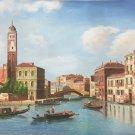 "European style Hand painted oil painting on canvas""Venice""60x90CM(23.6""x35.4"")Unframed-37"