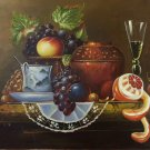 "handpainted oil painting on canvas Art Decor""Grape wine""50x60CM(19.7""x23.6"")Unframed-70"