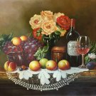 "handpainted oil painting on canvas Art Decor""Grape wine""50x60CM(19.7""x23.6"")Unframed-72"