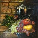"handpainted oil painting on canvas Art Decor""Grape wine""50x60CM(19.7""x23.6"")Unframed-73"