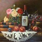 "handpainted oil painting on canvas Art Decor""Grape wine""50x60CM(19.7""x23.6"")Unframed-74"