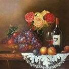 "handpainted oil painting on canvas Art Decor""Grape wine""50x60CM(19.7""x23.6"")Unframed-76"