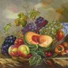 "handpainted oil painting on canvas Art Decor""Grape wine""50x60CM(19.7""x23.6"")Unframed-78"