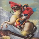 """Chinese style Hand painted oil painting on canvas""""Napoleon""""60x90CM(23.6""""x35.4"""")Unframed-46"""