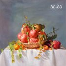 """Hand painted oil painting on canvas""""bumper harvest fruits""""80x80CM(33""""x33"""")Unframed-80"""