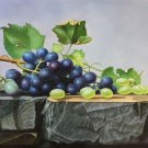 """Hand painted oil painting on canvas""""bumper harvest fruits""""60x90CM(23.6""""x35.4"""")Unframed-87"""