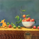 """Hand painted oil painting on canvas""""bumper harvest fruits""""60x90CM(23.6""""x35.4"""")Unframed-88"""